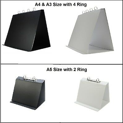 PVC Landscape Table Top Presentation & Conference FLIPCHART With Ring Mechanism