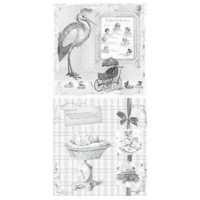 Tattered Angels Mixed Media Origins Double-Sided Paper 12x12-New Arrival MXM-240