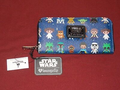 Authentic Disney Parks Star Wars Print Wallet by Loungefly New with Tags