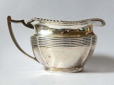 Sterling Silver Milk jug, Chester 1917, Barker Brothers, 146 grams