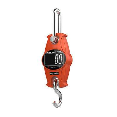 Industrial portable digital hanging scale 150kg / 300lb