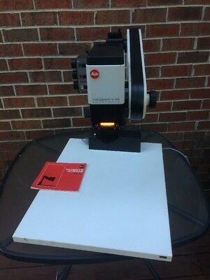 Leitz Focomat V 35 enlarger  w/lens, Instruction Manual.... Free Shipping