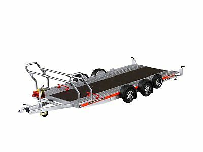 Aoshima 052600 Brian James Trailers A4 Transporter 1/24 Scale Plastic Model Kit