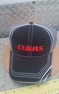 CLAAS FARM EQUIP grey 4 COLOR twill Trucker Hat Cap BRAND NEW LICENSED CAT AGCO