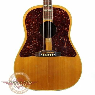 Vintage 1955 Gibson Country Western Southern Jumbo Dreadnought Acoustic Guitar