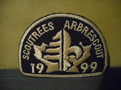 1999 Scout Trees,Boy Scouts of Canada Patch