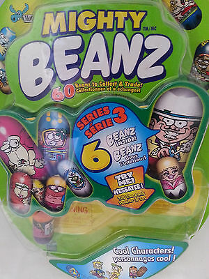 2003 moose's mighty beanz season 3 - cool characters  - blind pack 6