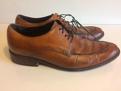 Cole Haan 5713141 Light Brown Nike Leather Dress Loafer LaceUp Oxford Mens Sz 10