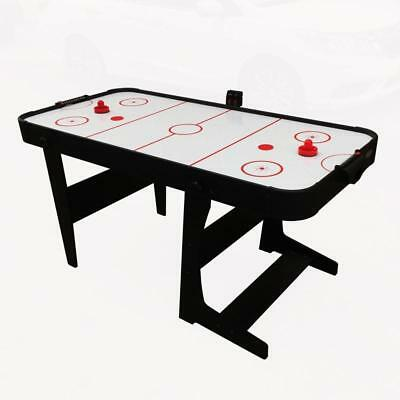L-Foot Air Hockey Table ELECTRONIC Scorer Mains Powered Fan Children Games TOY