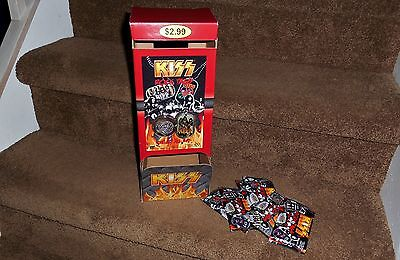 Kiss Rock Tags With Store Display Box New
