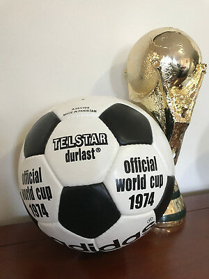 1974 World Cup Ball Official Adidas Durlast