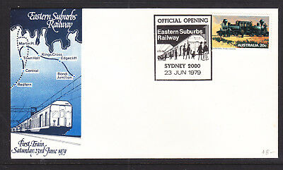 Souvenir Cover: 1979  Official Opening Of Eastern Suburbs Railway