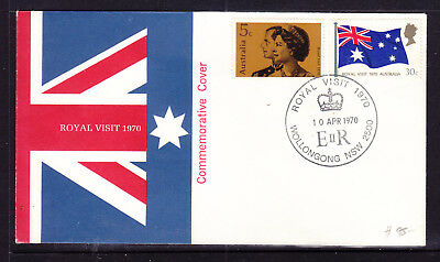 Fdc: 1970 Royal Visit   Clean Unadressed  And Still Hard To Find.