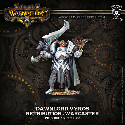 Warmachine Scyrah Warcaster Dawnlord Vyros