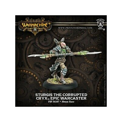 Warmachine Cryx Warcaster Sturgis the Corrupted
