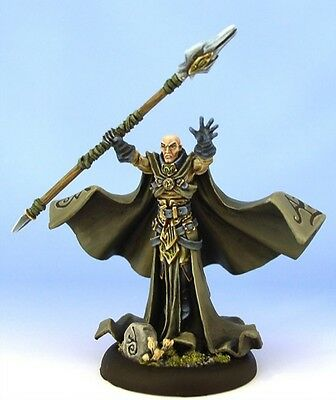 Warmachine Orboros Warlock Krueger the Stormwrath
