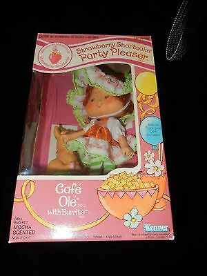 Vintage Strawberry Shortcake Party Pleaser Boxed Cafe' Ole' With Burrito