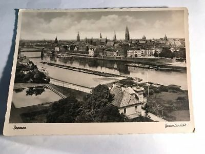Bremen German Rare Antique Vintage Old Postkarte Ansichtskarte Postcard