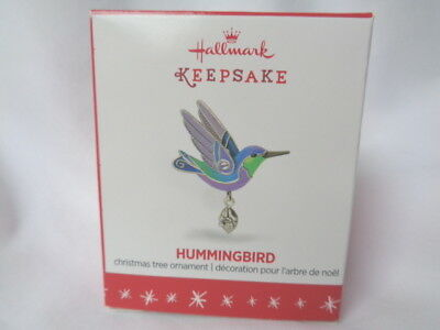 Hallmark 2016 Hummingbird Beauty of Birds MINIATURE ornament