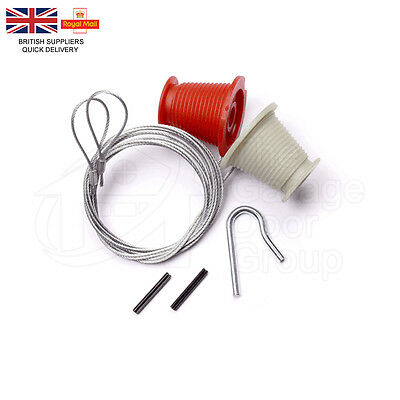 HENDERSON Merlin Doric Cones & Cables GARAGE DOOR SPARES PARTS NEW lift Cables