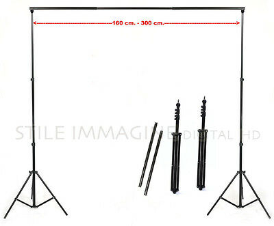 STAND DOOR BOTTOMS 270 cm ULTRA ROBUST stand LIGHT KIT 2 stand BAR PROFESSIONAL