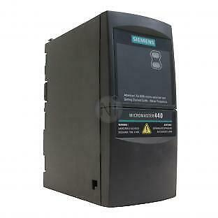Siemens 6SE6440-2AB15-5AA1 MicroMaster 440 0.55kW Drive with 12 month warranty