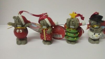 Me To You Christmas Tree Decorations X4