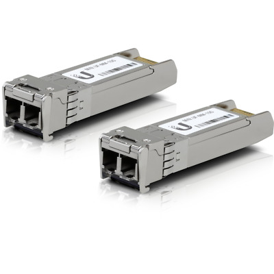 Ubiquiti U Fiber SFP+ Multi-Mode Module 10G 20 Pack UF-MM-10G-20