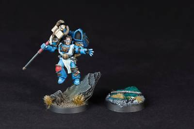 Sage (Librarian) with jetpack for Space Marine with power staff