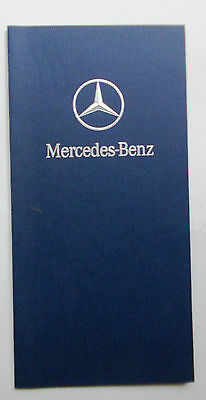 Mercedes Benz Happy Motoring in New Year Greetings card