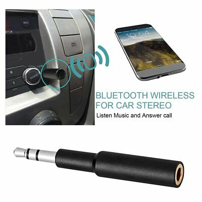 Mencom Mini Wireless Bluetooth Receiver With Mic 3.5mm AUX Audio Adapter YT