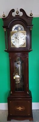 hermle grand farther moon phase clock local deliver