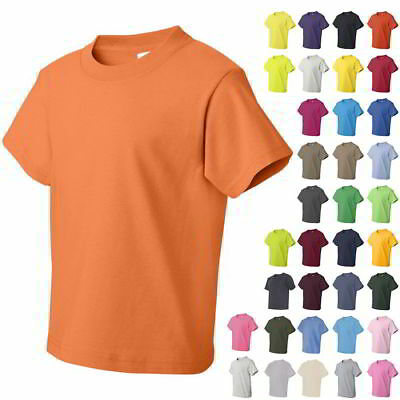Fruit of the Loom Youth Heavy Cotton Boys & Girls HD T Shirts 3930BR