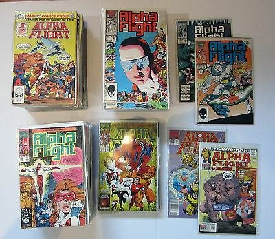 Alpha Flight (1983) #-1, 1 To 130 + Annuals 1-2 + Mini - Complete X-Men Byrne
