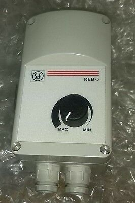 S&P REB-5 Air handling ventilation fan Speed Controller. New.