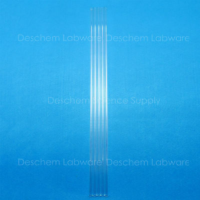 300mm,Glass Blowing Tube,OD=12mm,Thcik=1.50mm,Borosilicate Glass3.3,5 Pieces