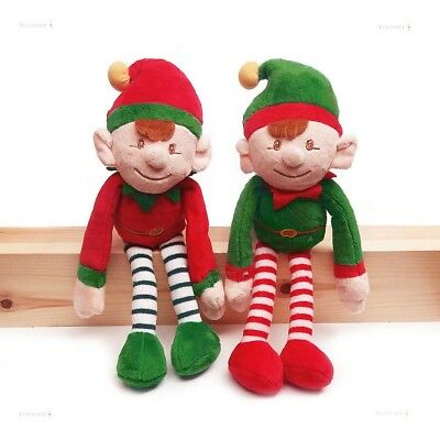 Elf on the Shelf, Plush Elf Doll Green or Red, Keel Toys Perfect Christmas Gift