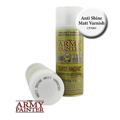 Base Primer - Anti-Shine Matt Varnish Spray Sprühgrundierung *The Army Painter*