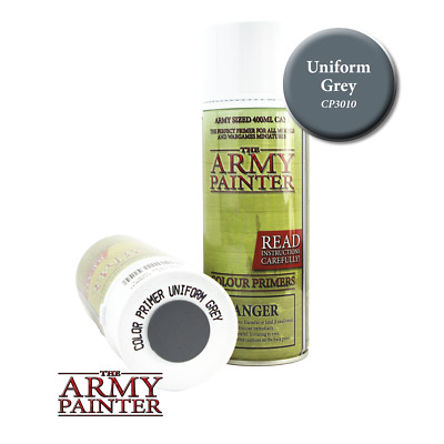 Colour Primer - Uniform Grey Spray - Sprühgrundierung *The Army Painter*