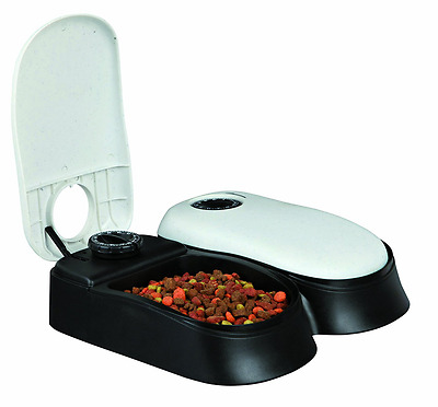 Trixie  Automatic Pet Food Dish Dispenser Feeder Timer for Dogs and Cats