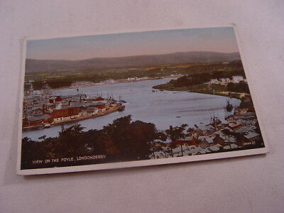 TOP12672 - Valentine's Postcard - View on the Foyle, Londonderry