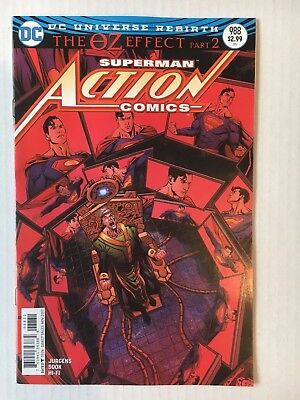 DC Comics: Action Comics #988 Variant Edition OZ Effect (2017) BN