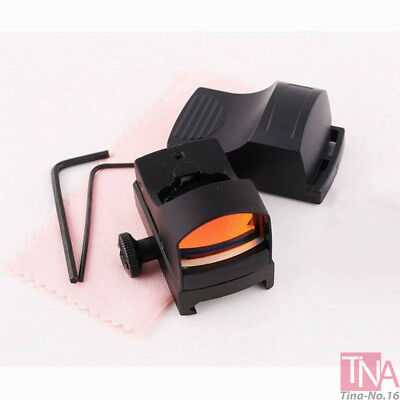 Tactical Mini Holographic Reflex Micro Red Dot Sight Scope For Hunting