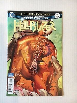 DC Comics:  The Hellblazer #14 (2017) - BN - Bagged and Boarded