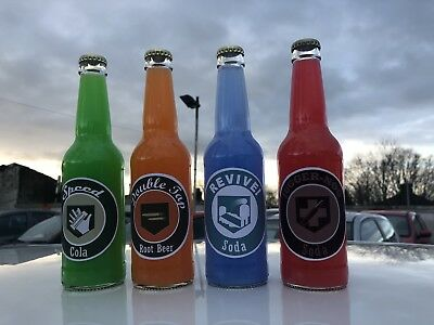 Call of Duty Zombie Perk Bottles (4) perk a cola bottles Xbox PS4