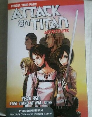 Attack on Titan Adventure novel