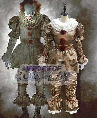 Stephen King's IT Pennywise Halloween Costume Original Colour