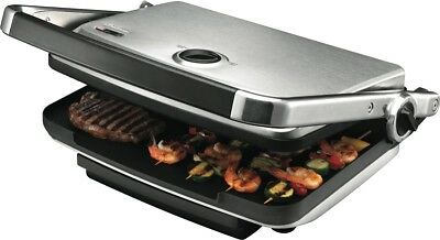 NEW Sunbeam GC7850B Cafe Contact Grill and Sandwich Press
