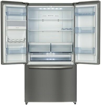 NEW Hisense HR6FDFF630S 630L French Door Refrigerator