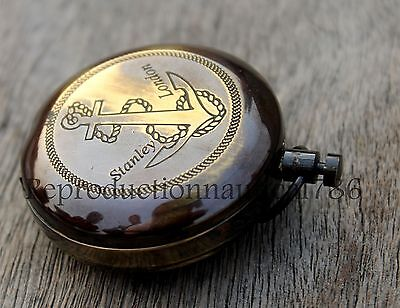 Maritime Antique Look Solid Brass Working Compass Vintage Nautical Compass Gift
